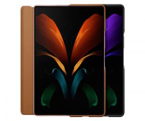 سامسونج تطلق حافظة جلدية لهاتف Galaxy Z Fold2 وسماعة...