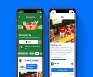 فيسبوك تساعد في جمع الطعام للأشخاص المحتاجين
