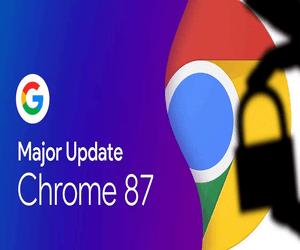 جوجل تدفع الإصدار 87 من متصفح Chrome بمجموعة من المم...