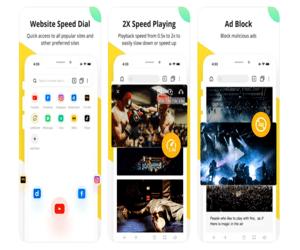 Snaptube Browser متصفّح ويب كامل المميزات على الآيفون