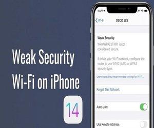 تحذير من ضعف أمان Wi-Fi على الآي-فون، ماذا يعني هذا ...