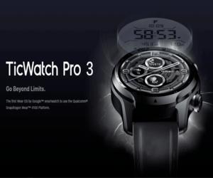 Mobvoi تطلق ساعتها الذكية TicWatch Pro 3 L...