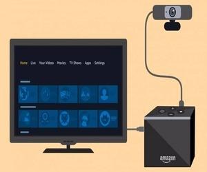 أمازون تضيف دعم كاميرا الويب إلى Fire TV Cube