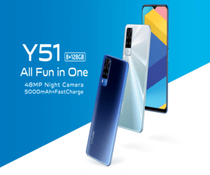 فيفو تعلن عن هاتف vivo Y51 جديد