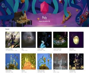 جوجل تغلق منصة Poly لمحتوى الواقع الافتراض...