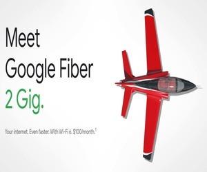 جوجل تقدم خدمة الألياف الضوئية بسرعة 2 جيجابت