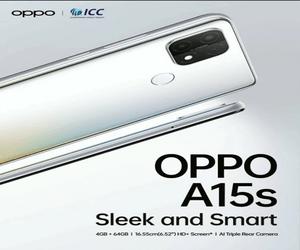 ملصق إعلاني يكشف عن المواصفات الرئيسية لهاتف Oppo A15s