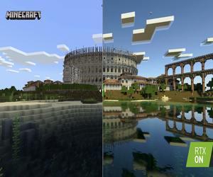 Minecraft مع تتبع الأشعة متاحة عبر ويندوز 10