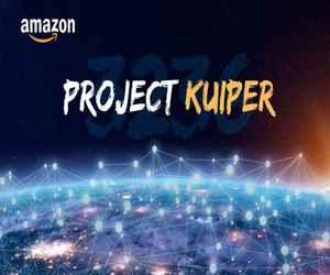أمازون تختبر مشروعها للإنترنت الفضائي Project Kuiper