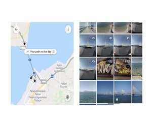 جوجل تضيف ميزة الخط الزمني للخرائط إلى خدمة الصور