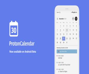 تطبيق التقويم المشفّر Proton Calendar متاح الآن على ...