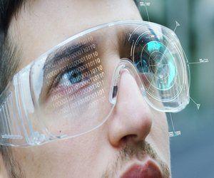 نظارة أبل أو جهاز الرأس للواقع المعزز AR و AirTags ق...