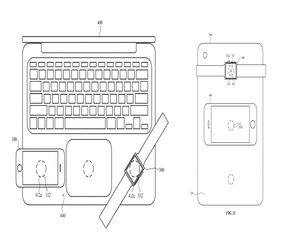 آبل تريد استخدام MacBook لشحن آيفون لاسلكيًا