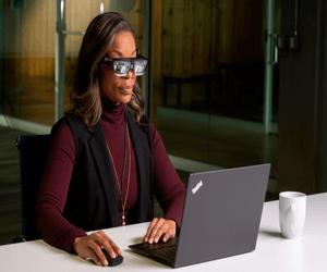نظارة ThinkReality A3 الذكية من لينوفو تدعم عرض حتى ...