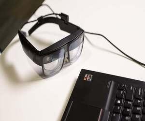 لينوفو تطلق نظارات الواقع المعزز ThinkReality A3