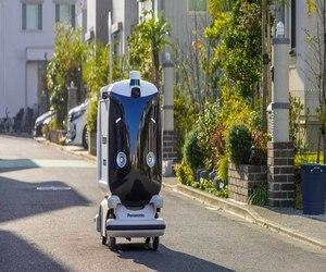 باناسونيك تختبر رد فعل اليابان على روبوتات التوصيل
