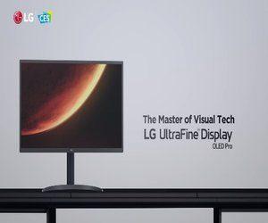 الإعلان عن شاشة الكمبيوتر LG Ultrafine™ OLED P...