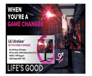 LG تكشف عن شاشة 27GP950 UltraGear المخصصة للألعاب #C...