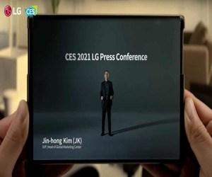 هاتف إل جي القابل للف LG Rollable هو هاتف حقيقي