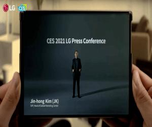CES2021: هاتف إل جي القابل للف قادم خلال العام الجاري