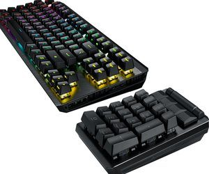 شركة Asus تعلن عن لوحة المفاتيح الميكانيكية ROG Clay...