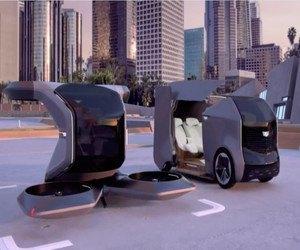 شركة جنرال موتورز للسيارات تستعرض نموذج لسيارة Cadil...