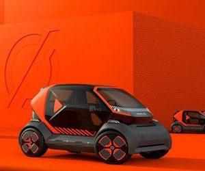 شركة Renault تستعرض نموذج سيارة كهربائية للمناطق الس...