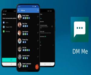 جديد تطبيقات أندرويد DM Me لتحديد التطبيق المناسب لإ...
