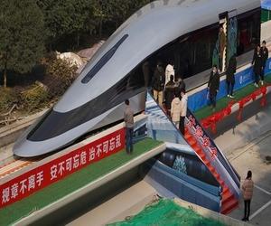 الصين لديها قطار يسير بسرعة 620 كيلومتر في الساعة