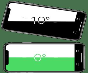 قم بتحويل الآي-فون إلى ميزان رقمي لضبط مستوى الأشياء...