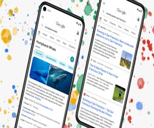 جوجل تعيد تصميم محرك بحثها عبر الهاتف المحمول