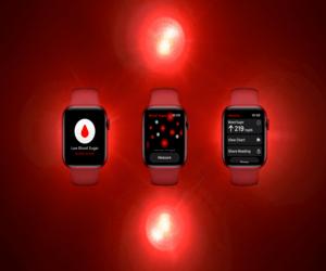 تصميم تخيُّلي لتطبيق آبل لمراقبة نسبة السكر في الدم ...