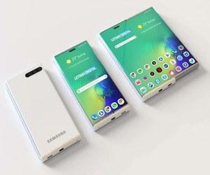 سامسونج تطور شاشات قابلة للف والانزلاق