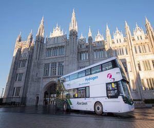 اسكتلندا تطلق حافلات الهيدروجين ذات الطابقين الأولى ...