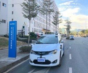 AutoX تطرح سيارات الأجرة الآلية في الصين