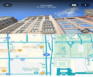 تحديث Google Maps يجلب نمط تقسيم الشاشة لميزة Street...