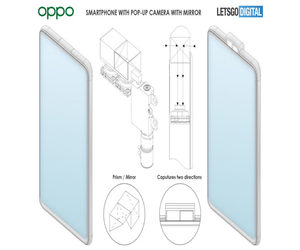 شركة Oppo  تسجل براءة اختراع لهاتف مع مرآة متحركة لل...