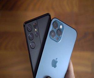 مقارنة كاميرا  آي-فون 12 برو ماكس مقابل سامسونج جلاك...