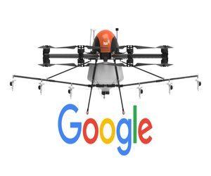 جوجل تريد اختبار طائرات مسيرة لمكافحة الحرائق