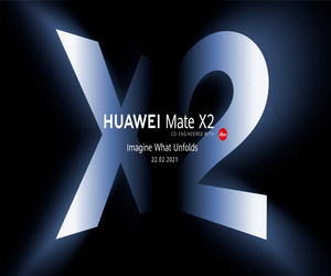 ملصق إعلاني جديد لهاتف هواوي MATE X2 قبل الإعلان الر...