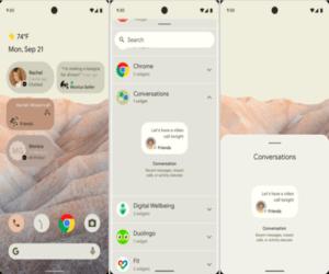 أول الصور المسربة لتحديث جوجل القادم Android 12