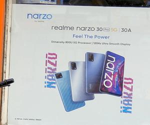ملصق إعلاني يكشف عن بعض من مواصفات هاتف Realme Narzo...