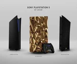 PlayStation 5 من Caviar تأتي بسعر 500 ألف دولار