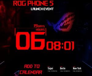 Asus تحدد يوم 10 من مارس لإطلاق هاتف الألعاب ROG Pho...