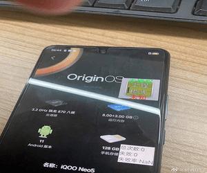 صور حية توضح تصميم هاتف iQOO Neo5 المرتقب من vivo