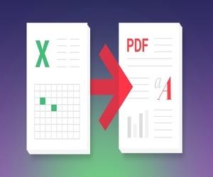كيفية حفظ مصنف إكسل Excel كملف PDF
