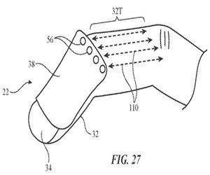 جهاز تحكم مثبت بالإصبع لنظارة الواقع المعزز في براءة...