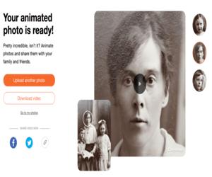تقنية Deep Nostalgia تعيد إحياء الصور القديمة
