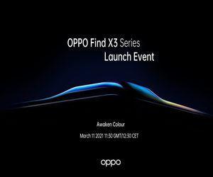 شركة OPPO Find X3 تحدد 11مارس موعدا للكشف عن هاتفها ...