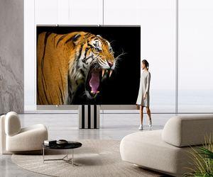 M1 .. تلفاز MicroLED قابل للطي بقياس 165 إنشًا